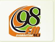 98 FM DIAMANTINA-MG.SEGUNDA A SÁBADO DAS 6:00 AS 6:30