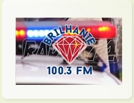 BRILHANTE FM 100.3 MORRO DO CHAPÉU-BA    SEGUNDA A SÁBADO DAS 6;00  AS 6:30