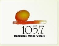 BANDEIRA FM 105,7 -BANDEIRA-MG  SEGUNDA A SABADO